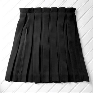 🌟& Other Stories Black Pleated Miniskirt 🌟